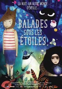 Dimanche 28 mars, la Fête du Court-Métrage vous invite à regarder Balades sous les étoiles, un programme de 6 petits films pour enfants
