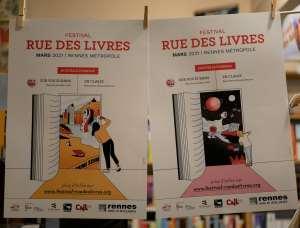 Un format adapté pour le Festival Rue des Livres, des rencontres scolaires du 8 au 12 mars et des émissions dédiées sur TVR