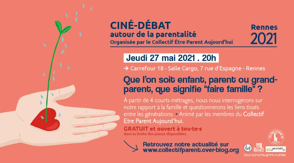 Collectif être parent aujourd'hui Ciné débat 27 mai