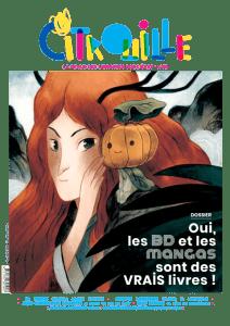 Le nouveau Citrouille vous attend à la Courte Échelle, avec un dossier consacré à la BD et au manga jeunesse.