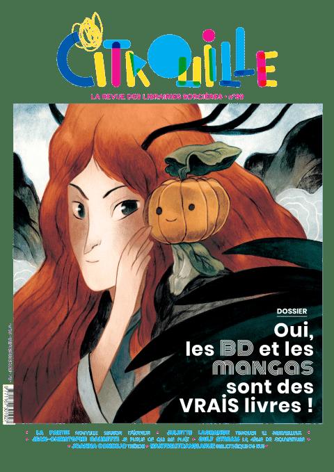 Revue Citrouille Septembre 2021 couverture Clément Lefèvre