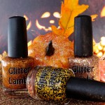 Some Pumpkiny Glitter Toppers From Glitter Lambs Fall 15 Collection Lacquered Lori