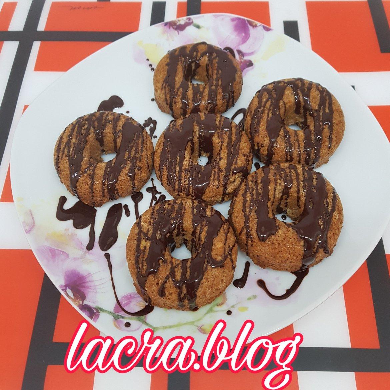 Donuts LCHF cu ciocolată ( de post )