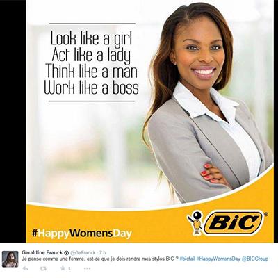 Tour du monde des publicités sexistes