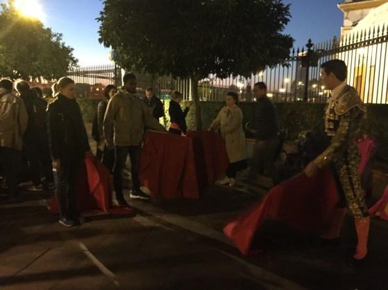 Seville teambuilding torero