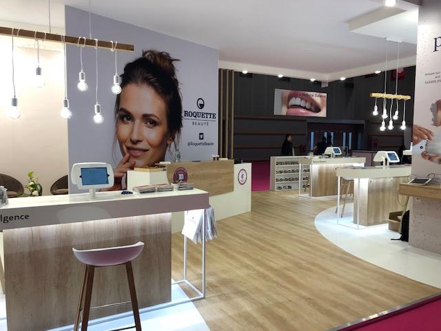 in-cosmetic 2019, le stand Roquette Beauté imaginé et animé avec succès