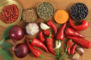 Spices composition