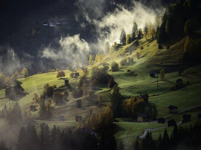 soñar con colina