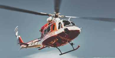 soñar con helicóptero
