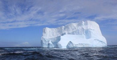 soñar con iceberg