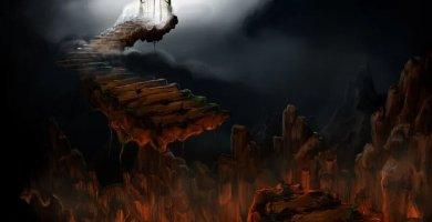 soñar con infierno