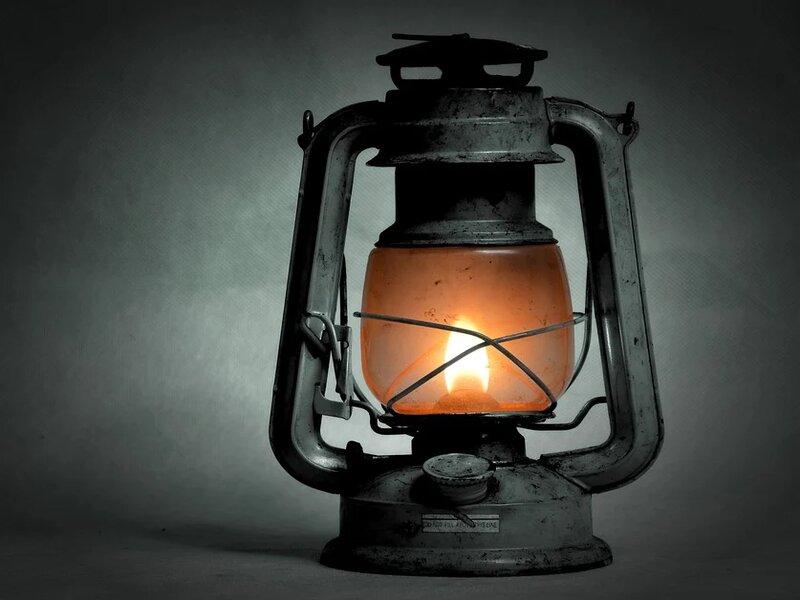 soñar con lámpara