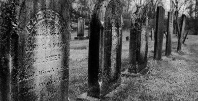 soñar con lápida