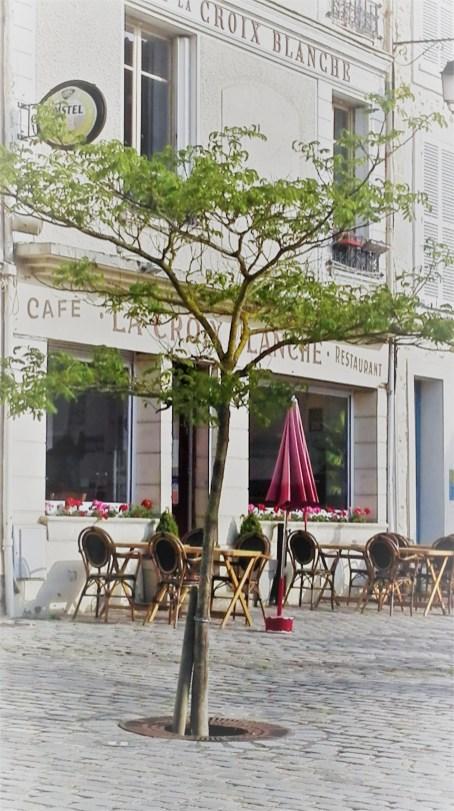 Restaurant Croix Blanche, façade