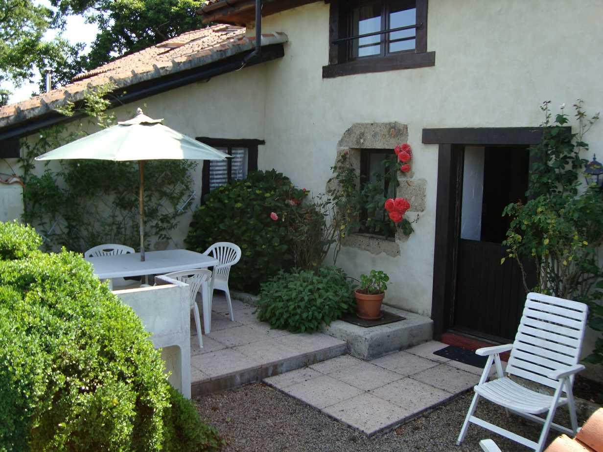 Sartre's private terrace