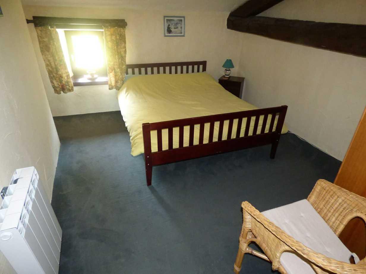 Sartre's master bedroom