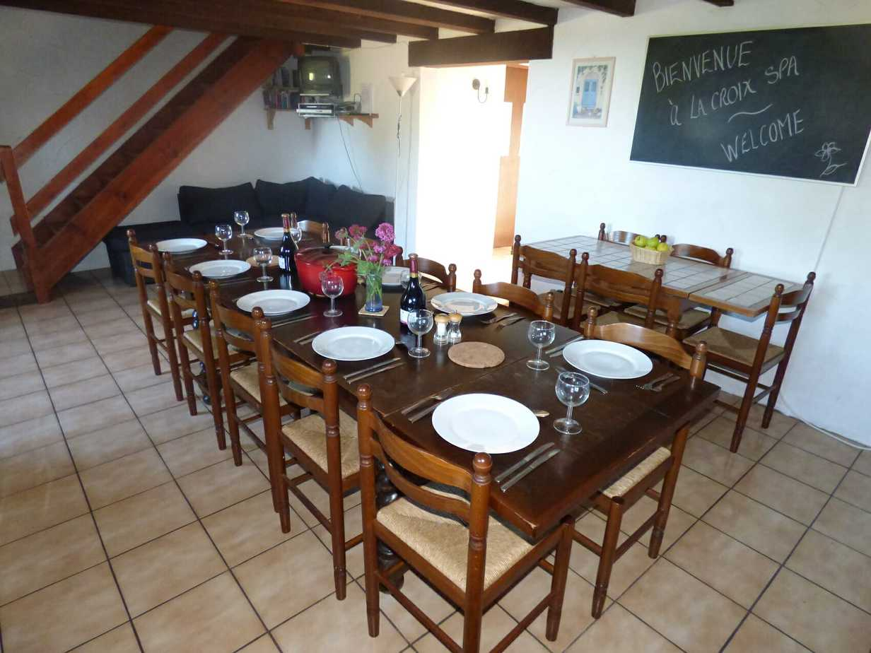 Corneille's large dining room
