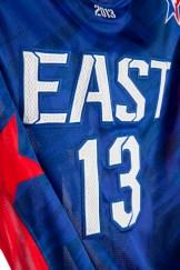 adidas NBA All-Star EAST Jersey Detail 5