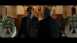 Julián Villagrán y José Sacristán al comienzo de la película