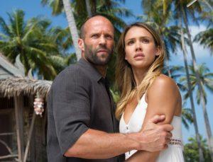 Jason Statham y Jessica Alba