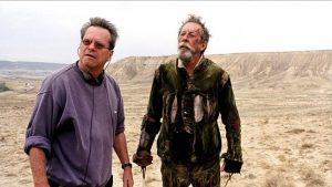 Terry Gilliam con Jean Rochefort