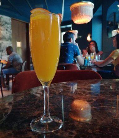Brunch en el Café Comercial - Mimosa