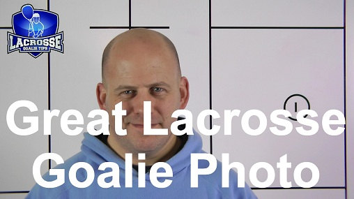 Great Lacrosse Goalie Photo