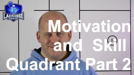 Motivation and Skill Quadrant Part 2