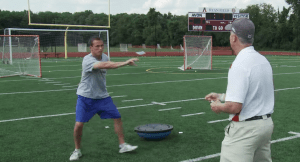 Playing Cards Drill - Lacrosse Goalie