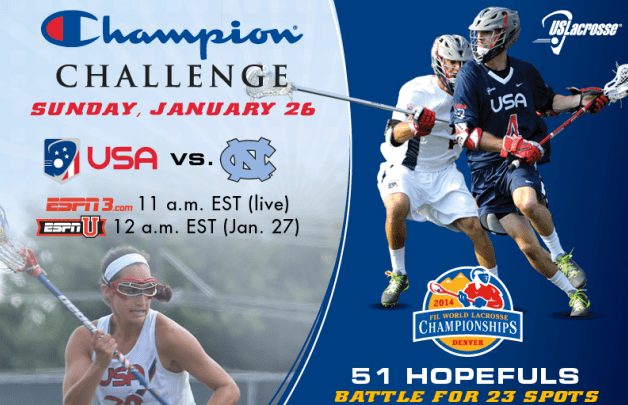 Watch Team USA on ESPNU and WatchESPN this Sunday, Jan. 26