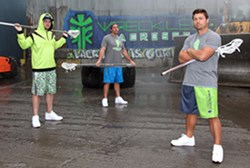 Wreckless Lacrosse Partners with The Chesapeake Bayhawks