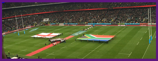 England Vs South Africa Rugby