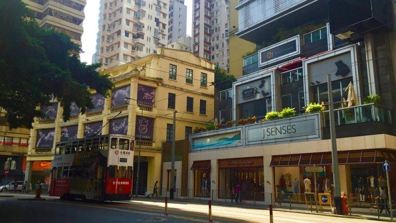 Wanchai famous for its Food and Beverage. Starred Restaurant in Ship Street