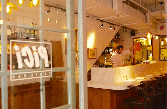 St Francis Yard-new Italian restaurant