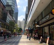 High traffic foodie street on Granville Road Tsim Sha Tsui East