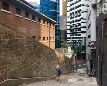 Chancery Lane meets with Arbuthnot Road Central