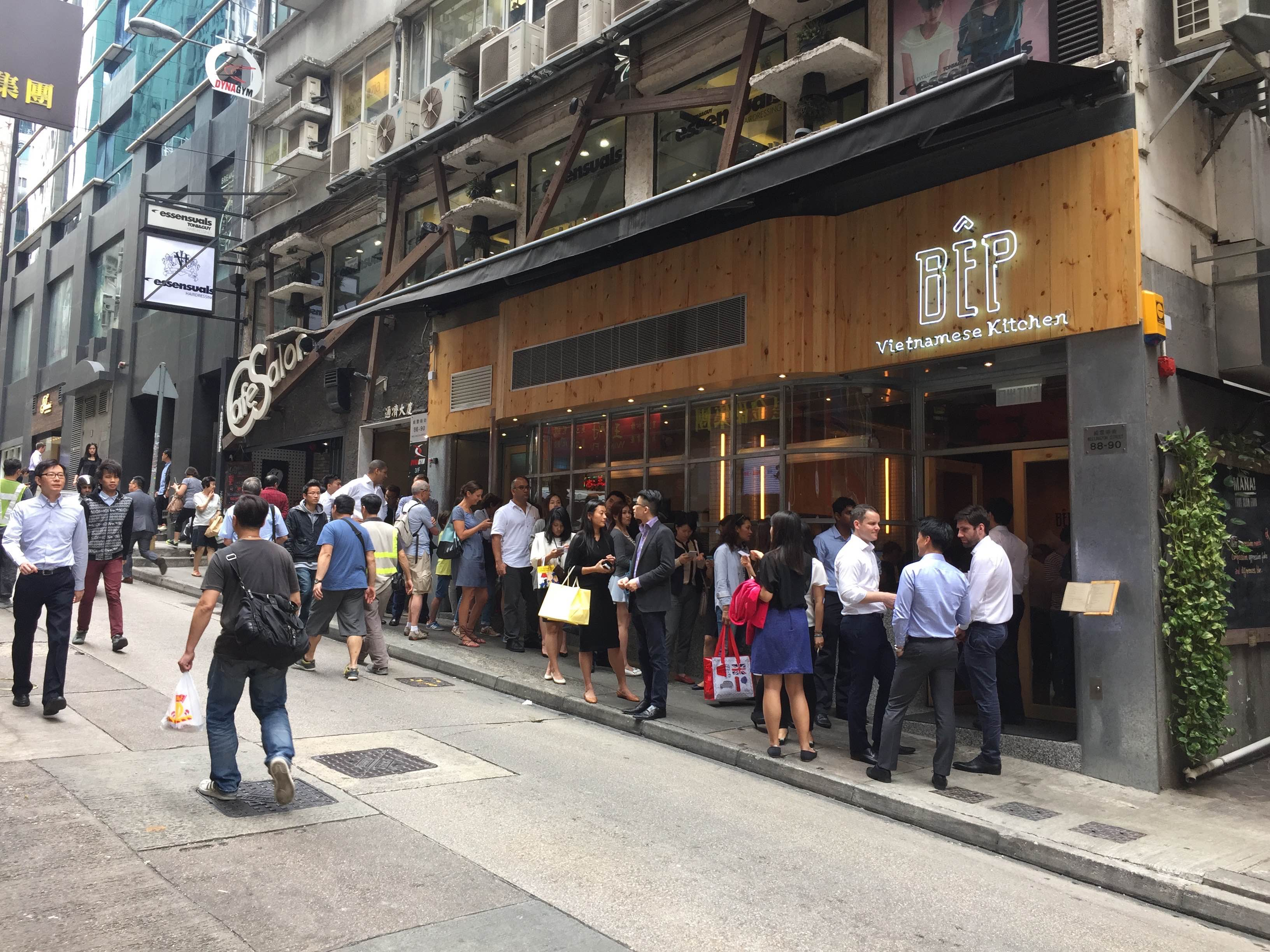 Restaurants on Wellington Street Central packed with foodie traffic