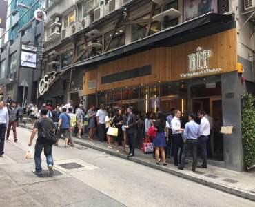 Wellington Street Hong Kong highest foodie traffic spot Central