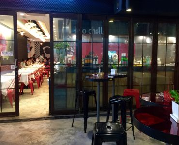 Restaurant with outdoor seating area in Sai Ying Pun Hong Kong