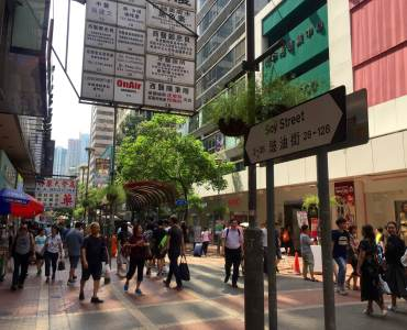 Mong Kok Soy Street high traffic spot Kowloon Hong Kong