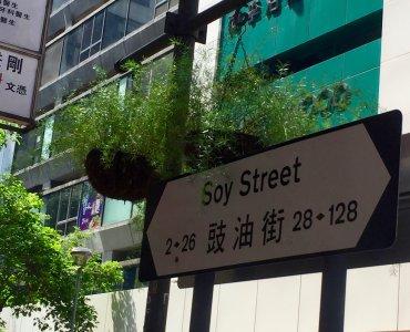 Mong Kok Soy Street - hot spot shopping dining district in Kowloon Hong Kong