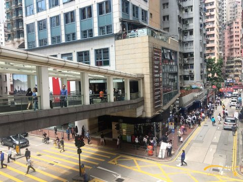 Wan Chai has the highest density of restaurants in Hong Kong by districts