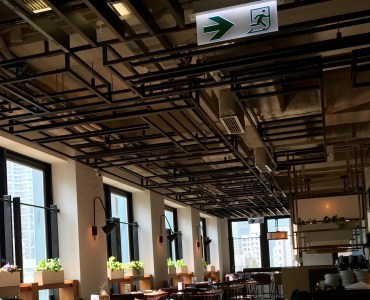 Hong Kong Wan Chai upstairs restaurant for lease nice decor