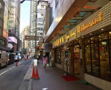 Hong Kong Causeway Bay high-traffic foodie street Fitted F&B Shop for Lease