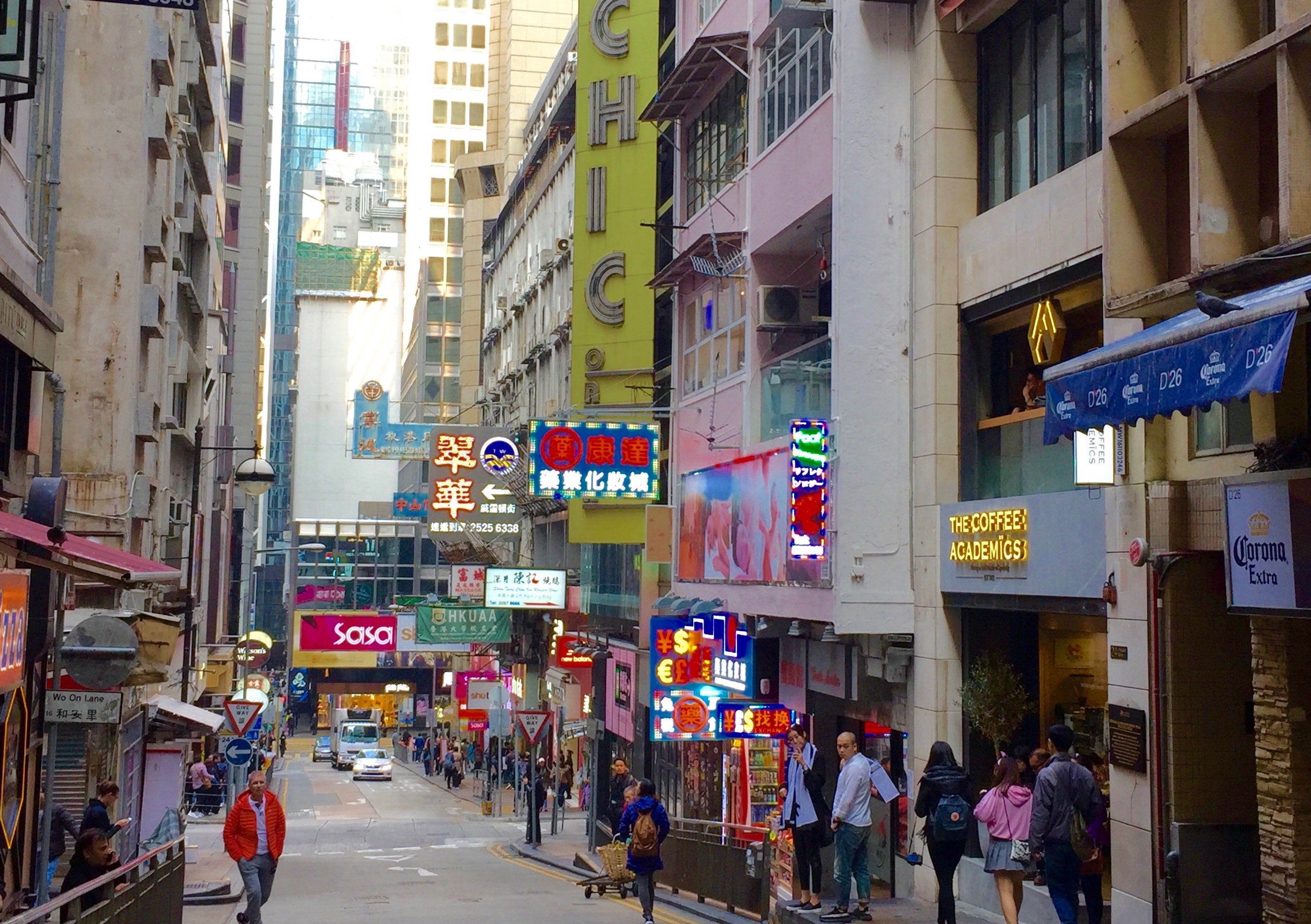 Hong Kong Central Lan Kwai Fong Fitted F&B Shop for Lease