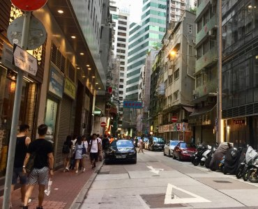 First-Floor FB space for lease near Hillier Street in Sheung Wan, Hong Kong