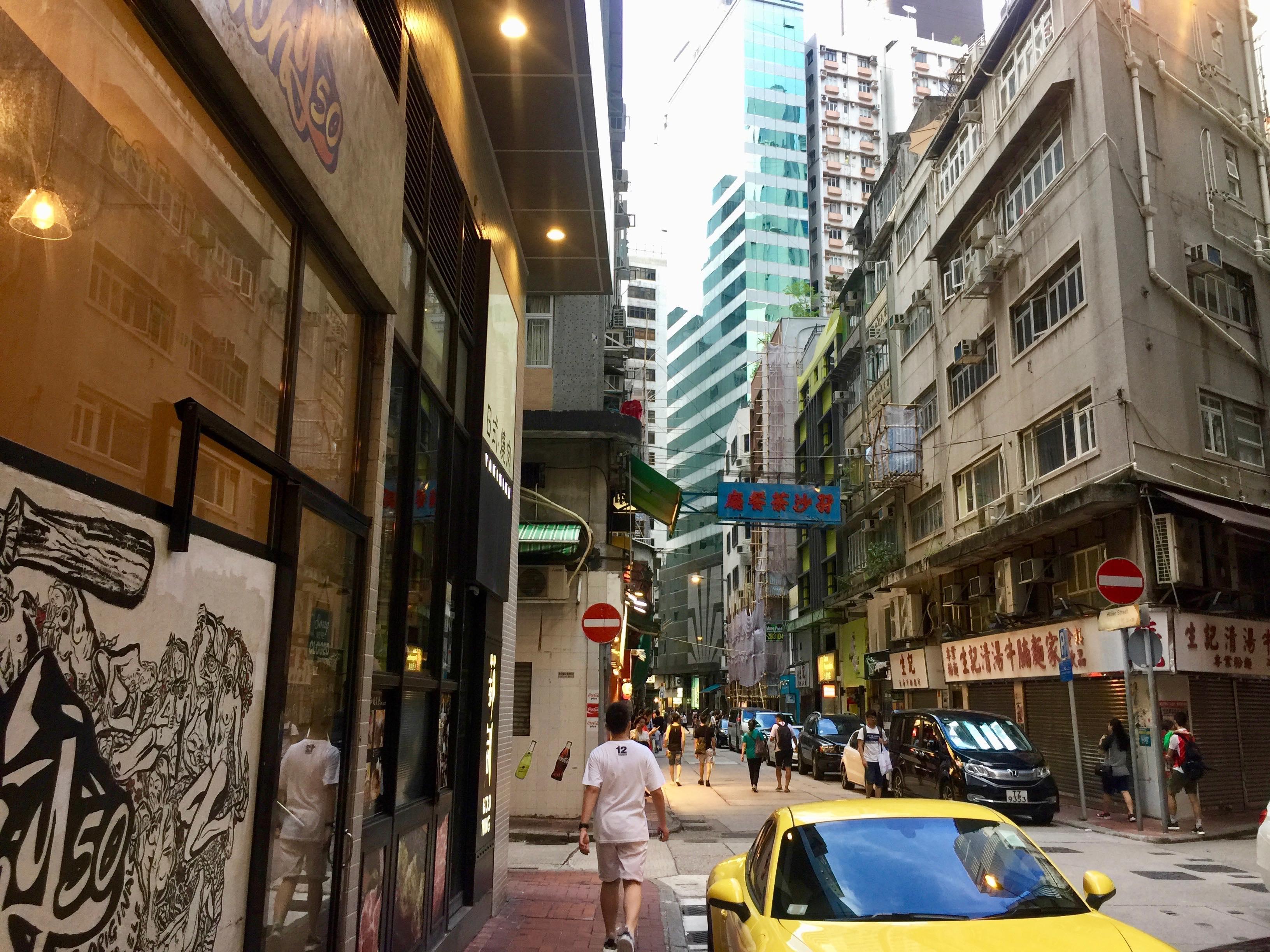 Hong Kong Sheung Wan Restaurant space for lease