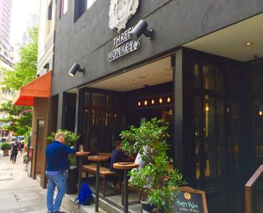 Fitted restaurant and bar for lease Hollywood Road Sheung Wan, Hong Kong