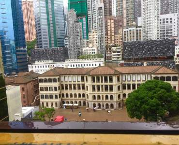 High-ceiling Bistro Bar Space for Rent Overlooking Tai Kwun in Central HK