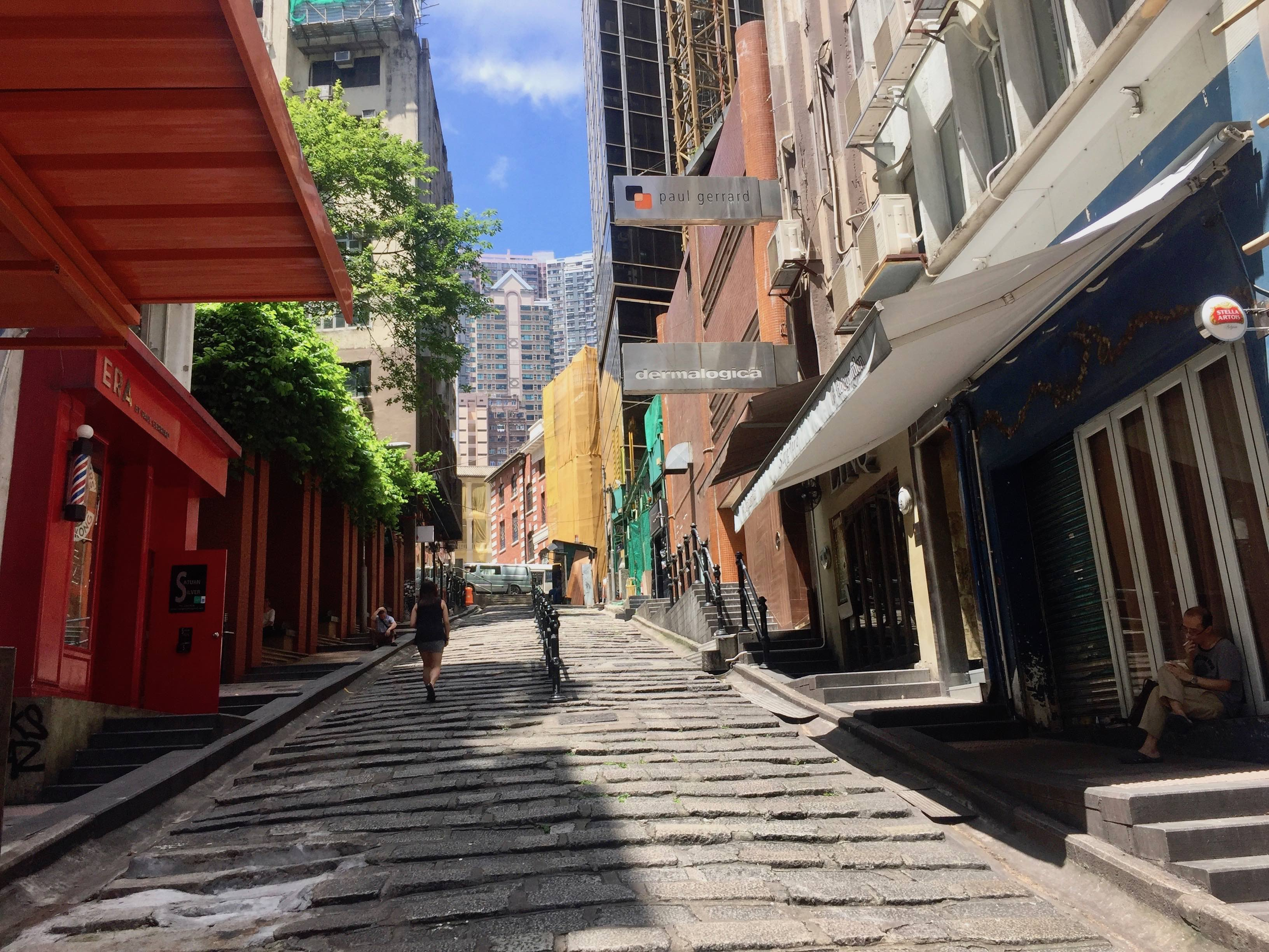 Restaurant space for rent on Pottinger St., Central HK